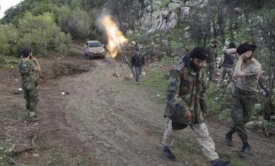 إطلاق معركة جديدة تستهدف مواقع عصابات الأسد في ريف اللاذقية