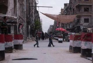 الشرطة العسكرية التابعة لنظام الأسد دخلت دوما بحثاً عن مطلوبين للتجنيد الإلزامي