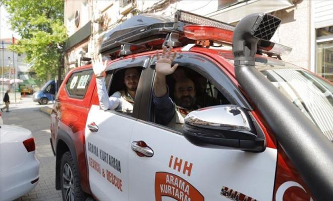 تركية ترسل مساعدات للمحتاجين في الشمال السوري