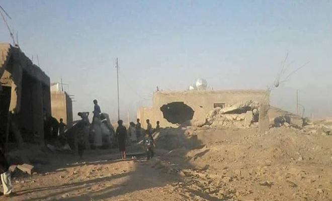 داعش يتبنى تفجير مقر لميليشيات قسد في الطيانة شرق دير الزور