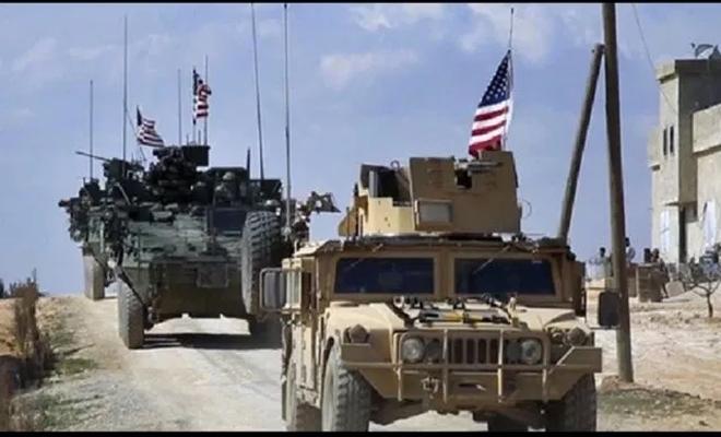 دخول رتل عسكري للتحالف الدولي إلى قاعدة عين عيسى بريف الرقة