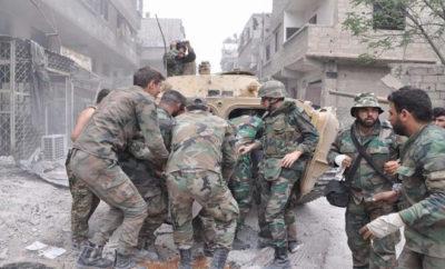 ضربات موجِعة لعصابات الأسد والغُزاة الروس في ريف حماة على يد فصائل الفتح المبين