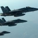 غارة للتحالف الدولي على المناطق المحررة شمال غرب سوريا