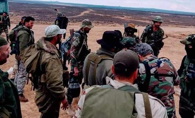 قتلى من عصابات الأسد الإرهابية على جبهة السرمانية غرب حماة