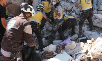 ارتفاع حصيلة الشهداء جنوب إدلب إلى 54 شهيدا مدنيا