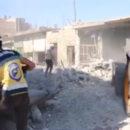 مجزرة جديدة.. طائرات عصابات أسد الإرهابية تقتل 7 مدنيين في سراقب