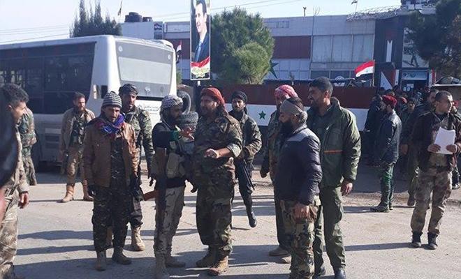 نظام الإجرام الأسدي يزج بشبيحة ديرالزور إلى محرقة حماة